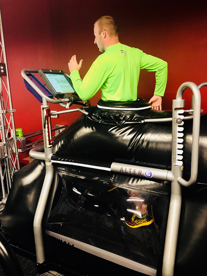 AlterG Treadmill - Resilience Code