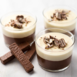 Paleo Chocolate Coconut Mousse with Coconut Whipped Cream